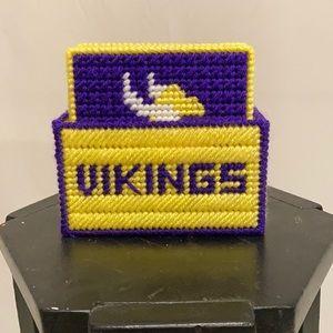 Minnesota Vikings 5 piece coaster set